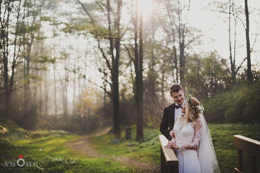 sesja ślubna rustykalna