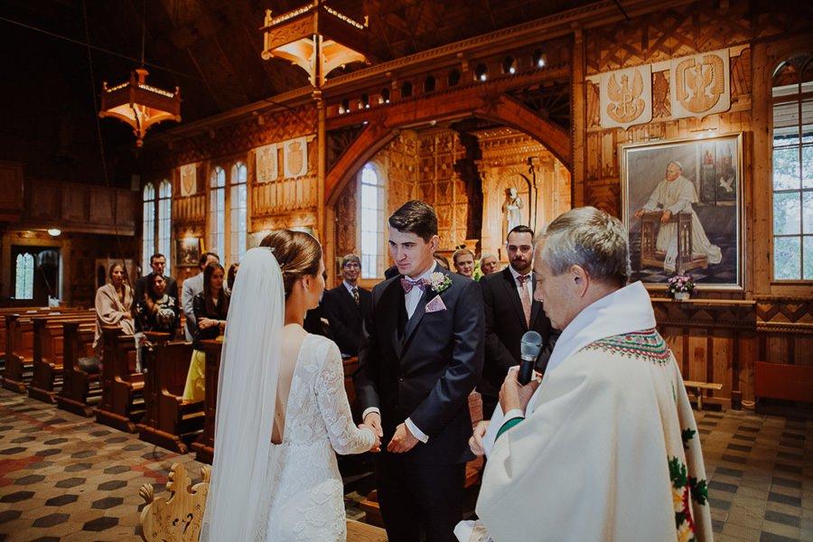 Ola i Matt - polsko-angielski ślub, że HEJ! Zakopane 37