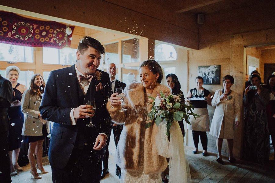 Ola i Matt - polsko-angielski ślub, że HEJ! Zakopane 88
