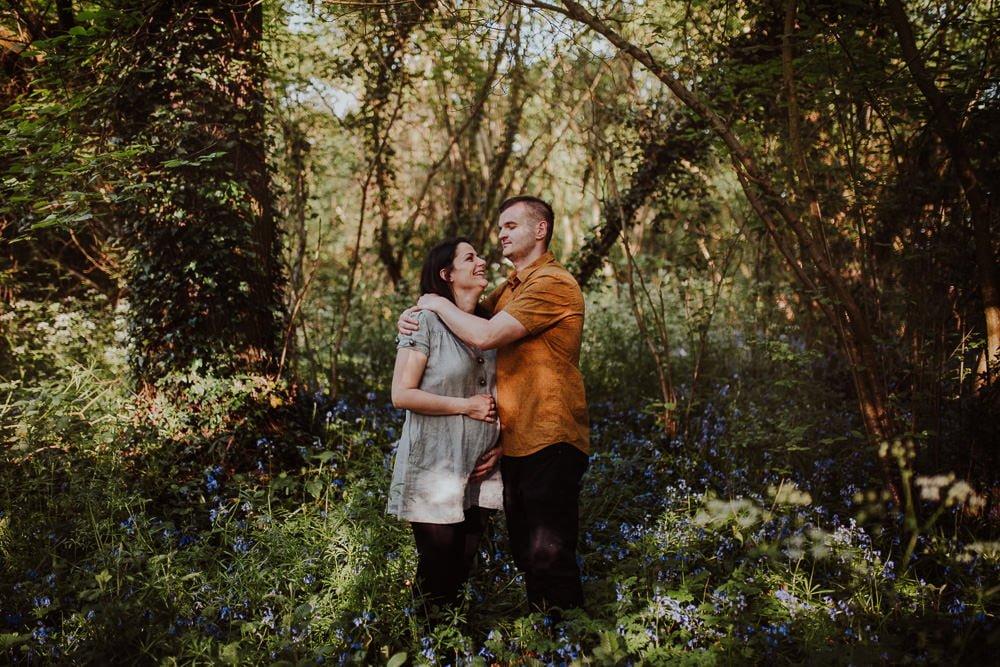Monika i Mariusz - sesja ciążowa. Worcester 2