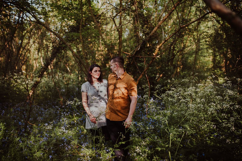 Monika i Mariusz - sesja ciążowa. Worcester 3