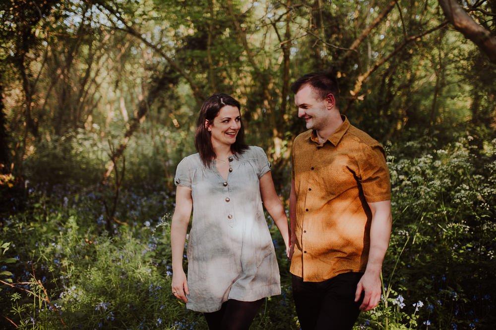 Monika i Mariusz - sesja ciążowa. Worcester 4