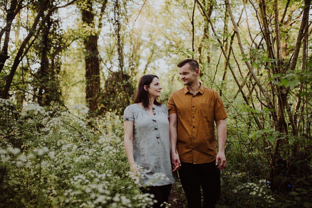 Monika i Mariusz - sesja ciążowa. Worcester 10