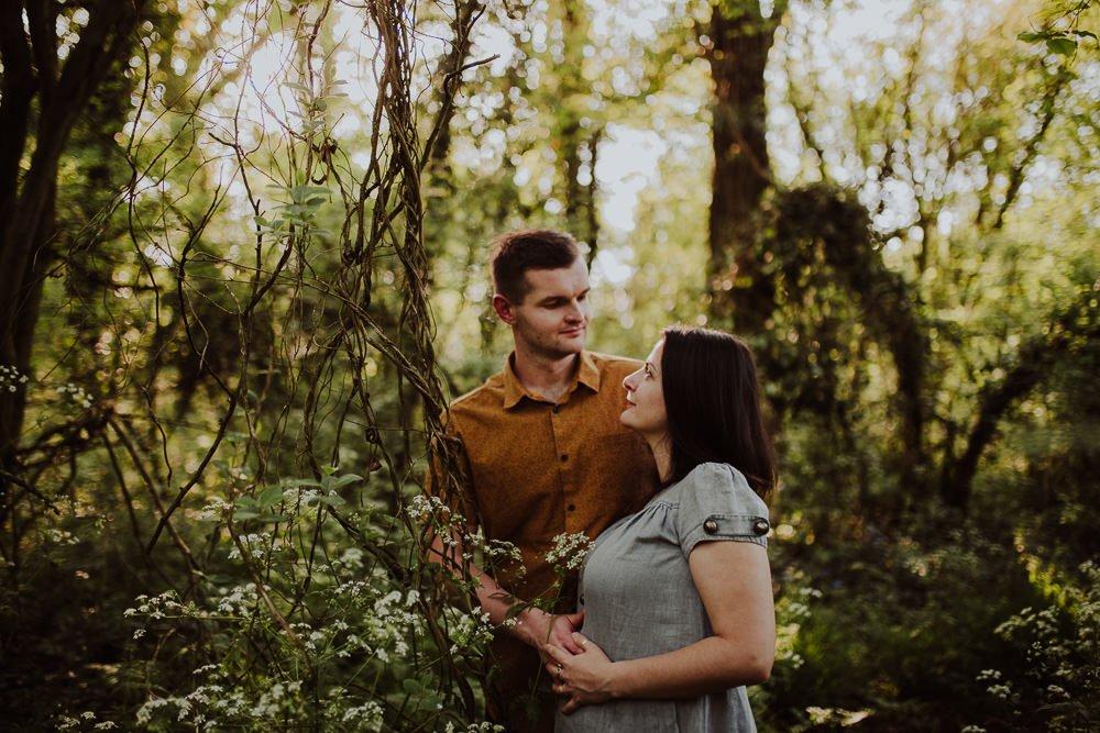 Monika i Mariusz - sesja ciążowa. Worcester 13