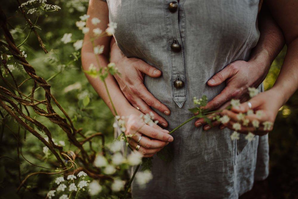 Monika i Mariusz - sesja ciążowa. Worcester 14