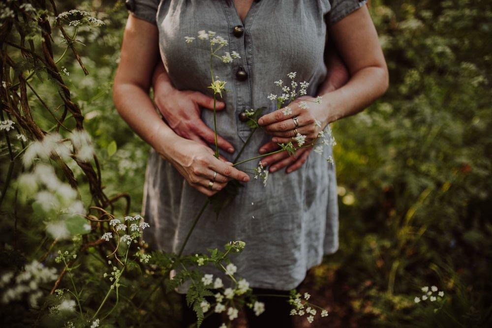 Monika i Mariusz - sesja ciążowa. Worcester 15