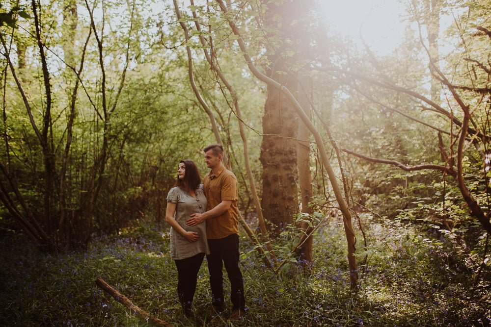 Monika i Mariusz - sesja ciążowa. Worcester 16