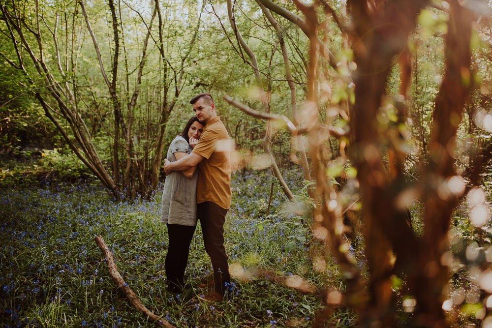 Monika i Mariusz - sesja ciążowa. Worcester 17