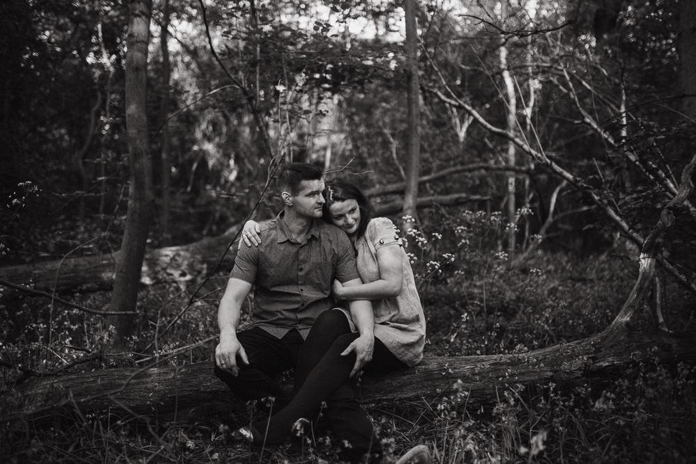 Monika i Mariusz - sesja ciążowa. Worcester 19