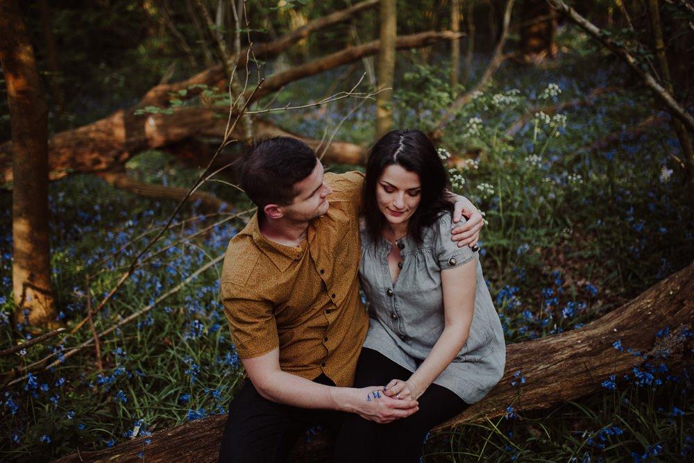Monika i Mariusz - sesja ciążowa. Worcester 24