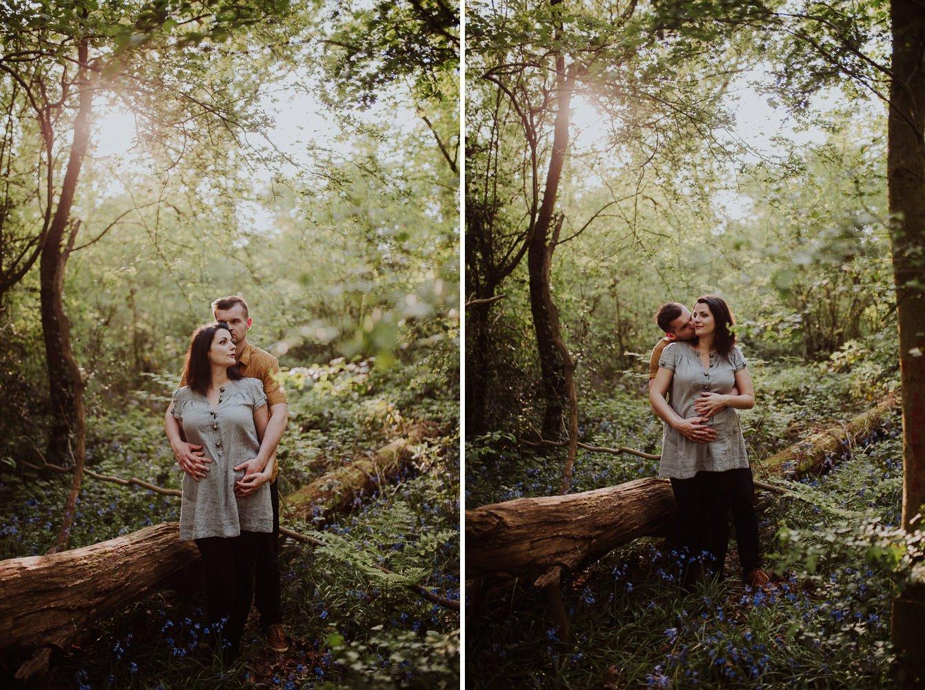 Monika i Mariusz - sesja ciążowa. Worcester 26