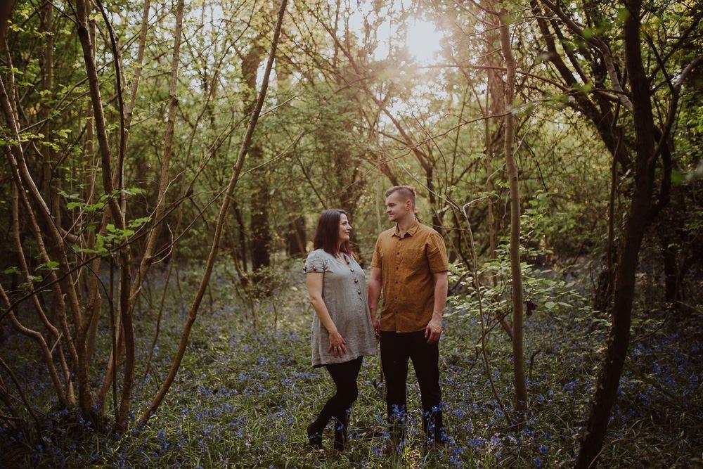 Monika i Mariusz - sesja ciążowa. Worcester 29