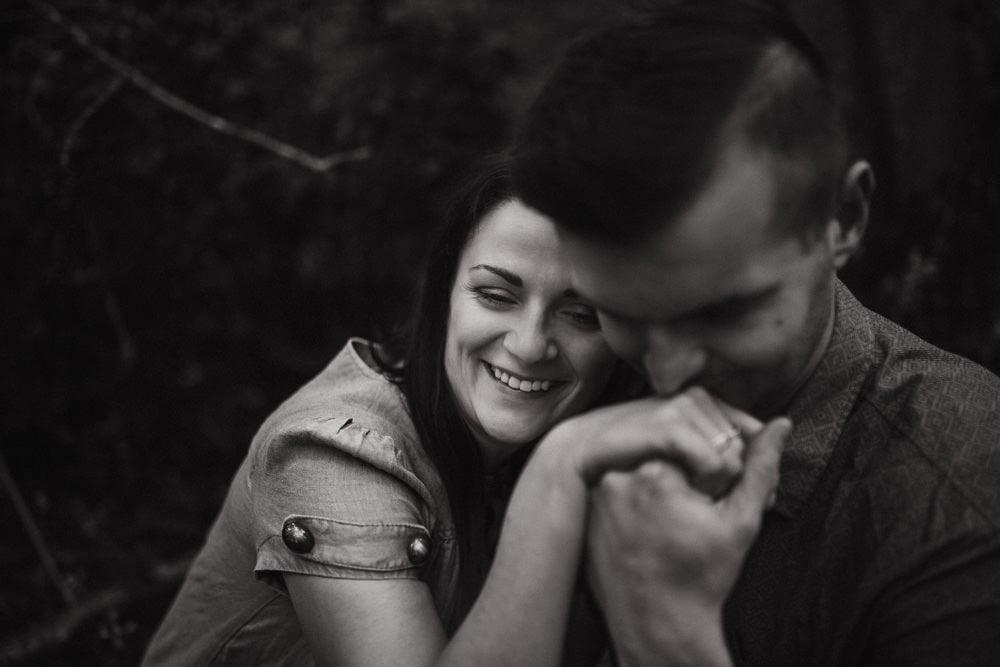 Monika i Mariusz - sesja ciążowa. Worcester 41