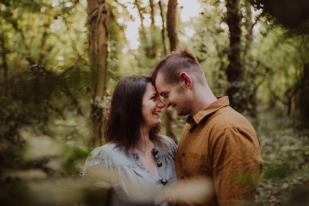 Monika i Mariusz - sesja ciążowa. Worcester 44