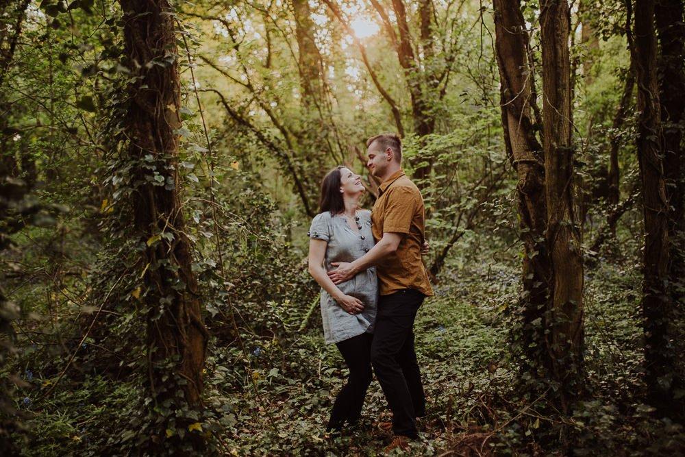 Monika i Mariusz - sesja ciążowa. Worcester 45