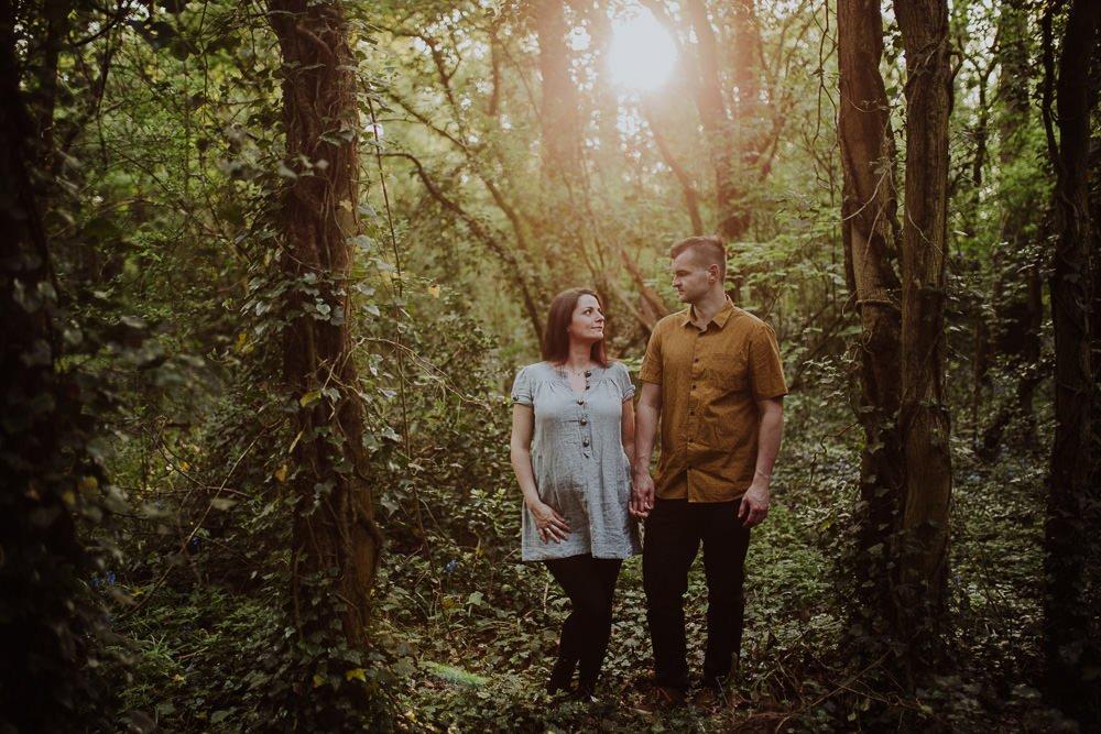 Monika i Mariusz - sesja ciążowa. Worcester 46