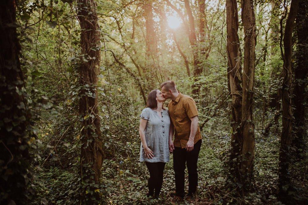 Monika i Mariusz - sesja ciążowa. Worcester 47
