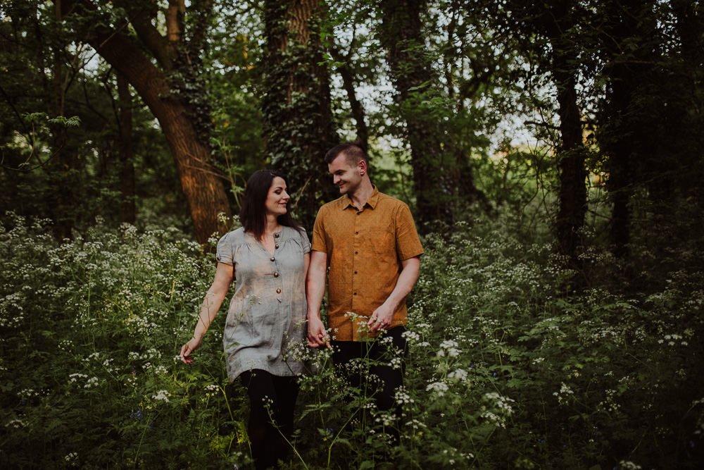 Monika i Mariusz - sesja ciążowa. Worcester 52