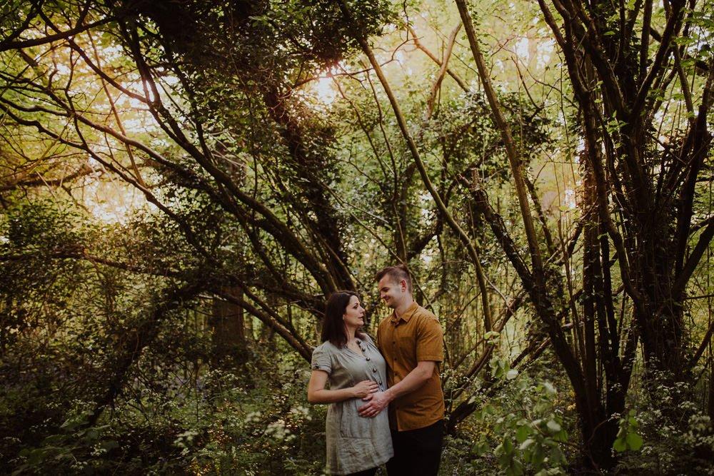Monika i Mariusz - sesja ciążowa. Worcester 53