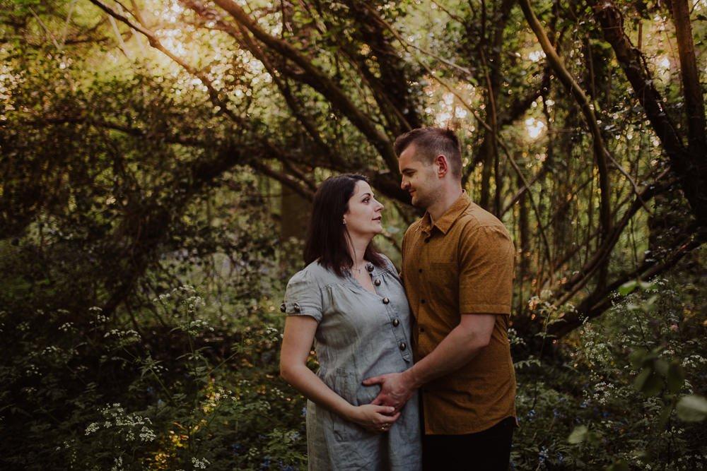 Monika i Mariusz - sesja ciążowa. Worcester 54