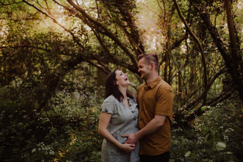 Monika i Mariusz - sesja ciążowa. Worcester 55