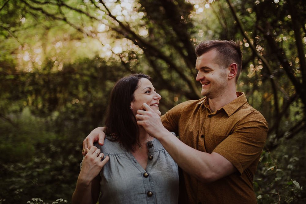 Monika i Mariusz - sesja ciążowa. Worcester 56