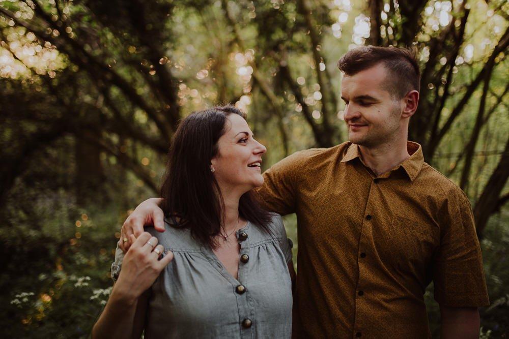 Monika i Mariusz - sesja ciążowa. Worcester 57