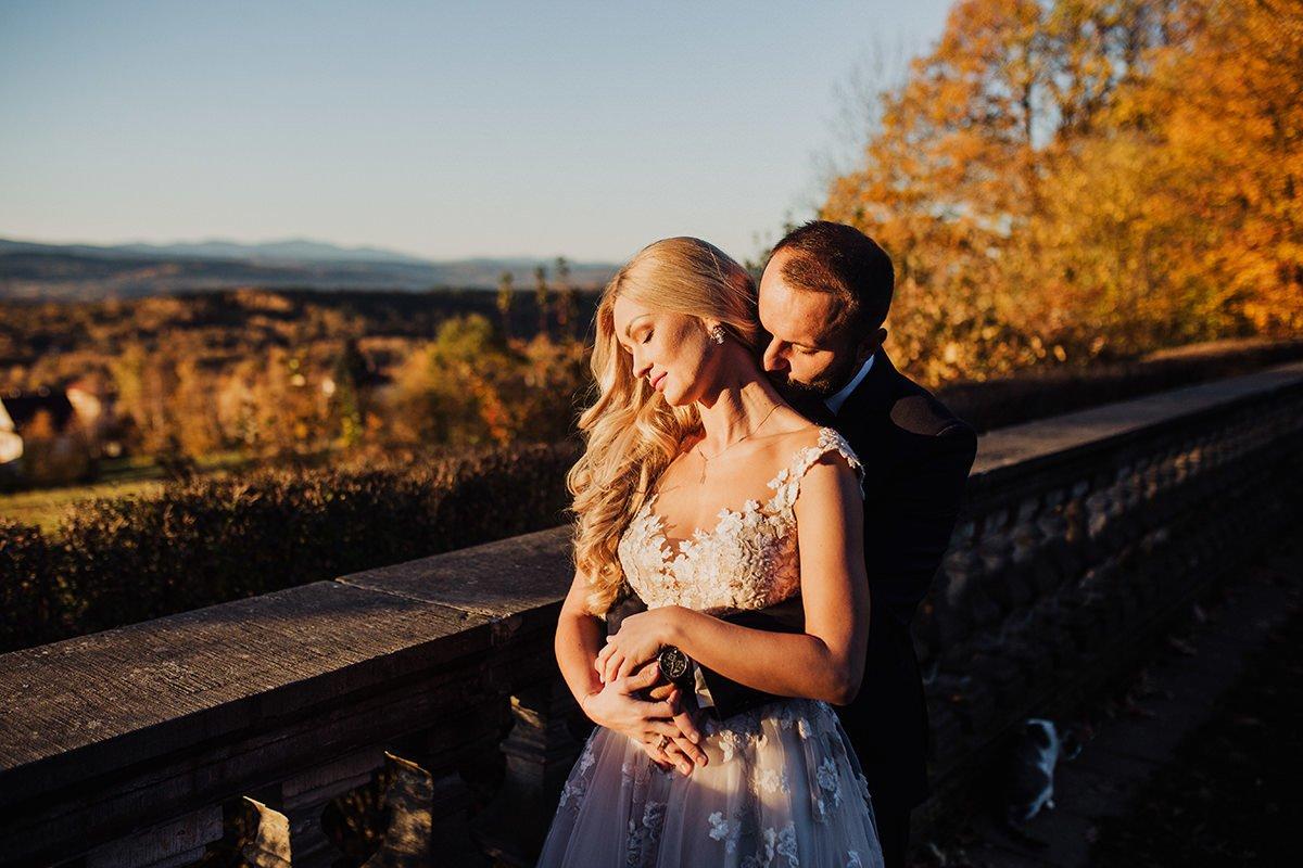 Monika i Daniel - reportaż ślubny i sesja w Mogilanach. 460