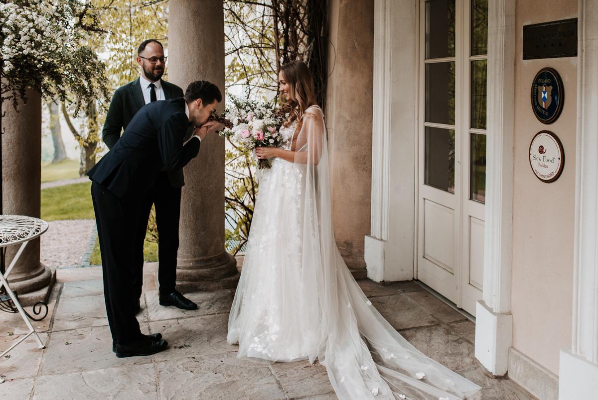 W & K - ślub w plenerze we dwoje - Dwór Sieraków 6