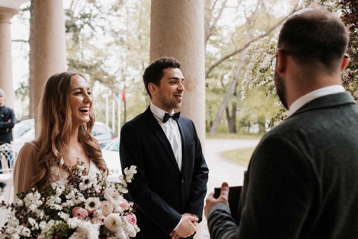 W & K - ślub w plenerze we dwoje - Dwór Sieraków 8