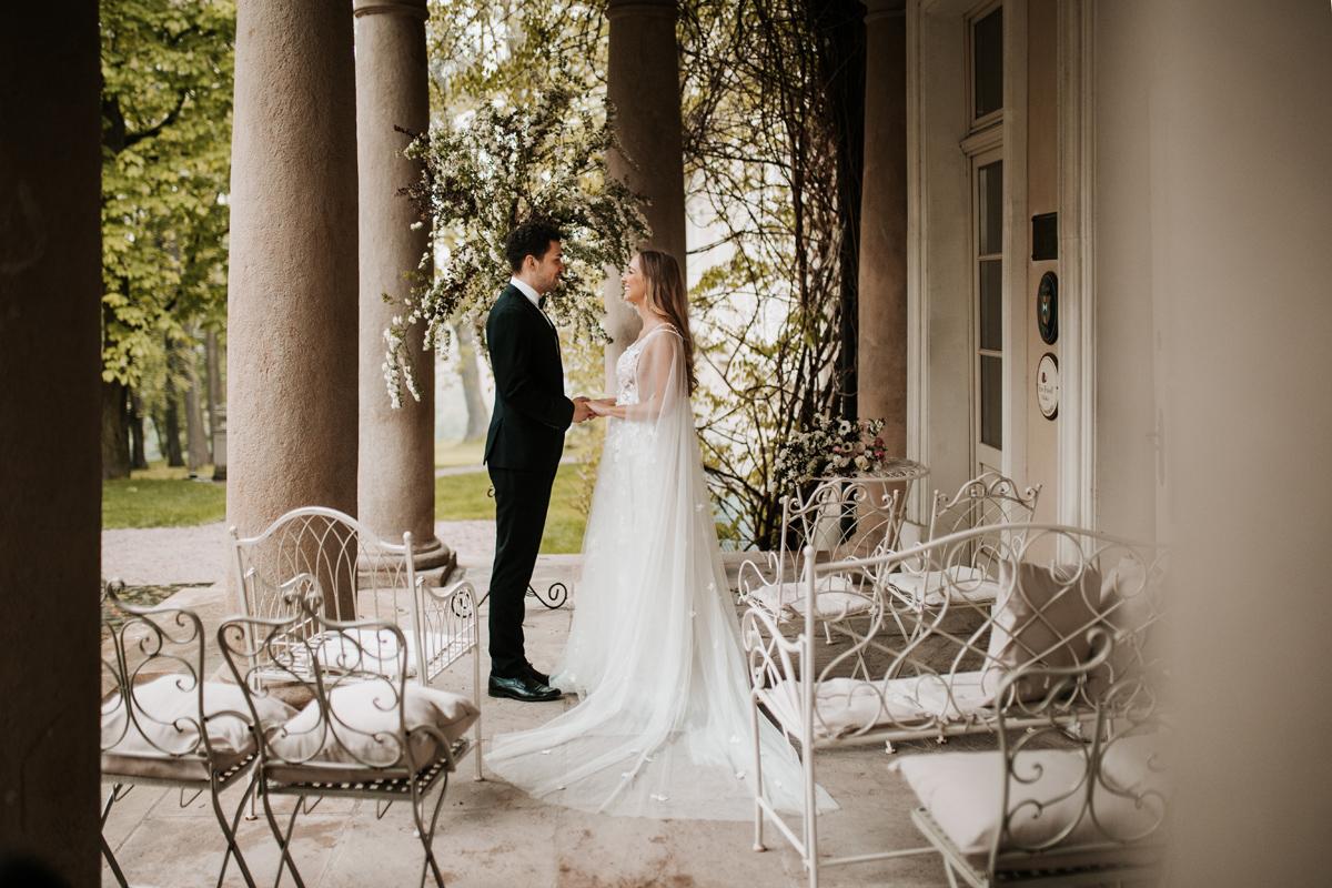 W & K - ślub w plenerze we dwoje - Dwór Sieraków 9