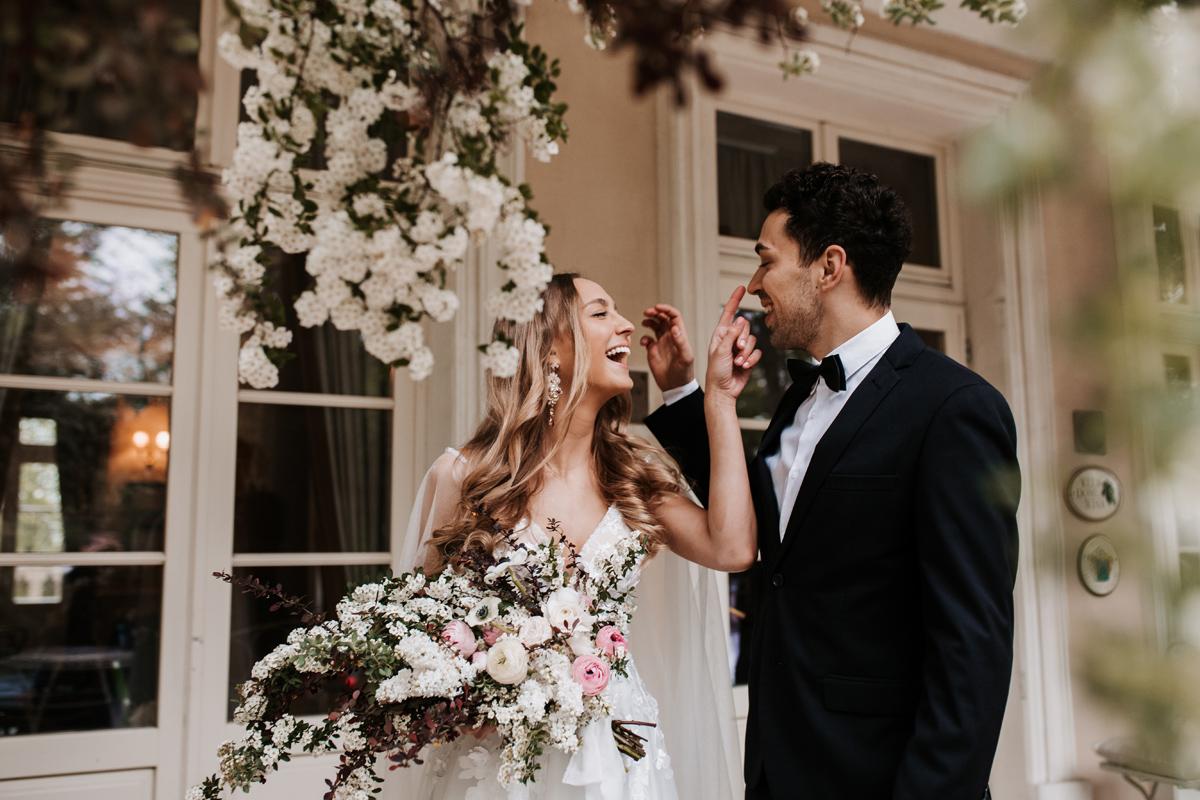 W & K - ślub w plenerze we dwoje - Dwór Sieraków 12