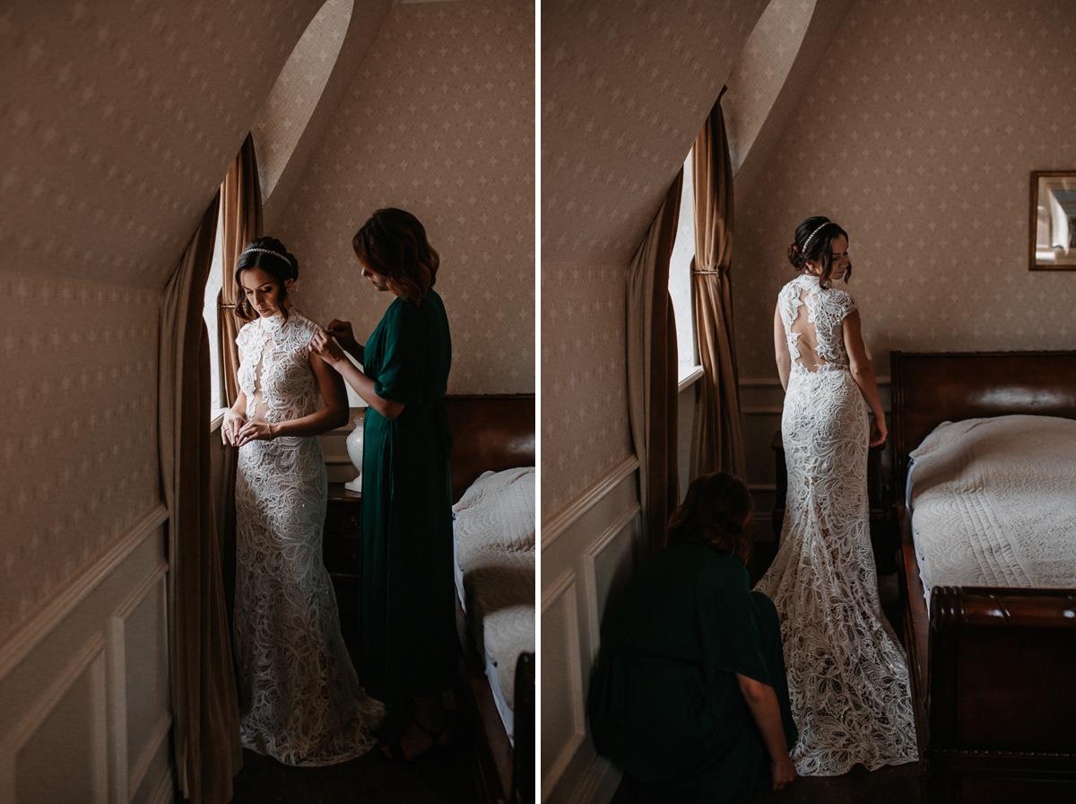 Marta i Krzysiek - ślub kościelny w plenerze - Dwór Sieraków 17