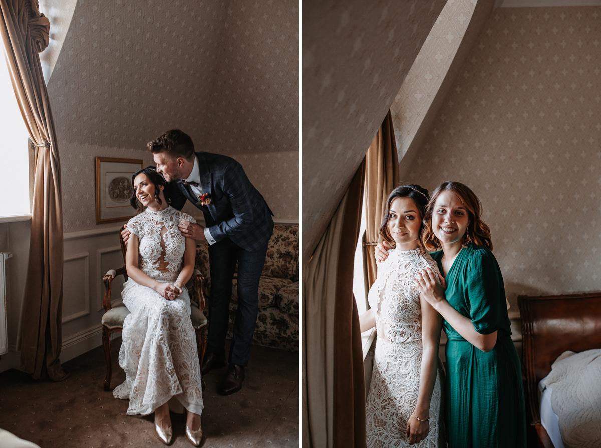 Marta i Krzysiek - ślub kościelny w plenerze - Dwór Sieraków 37