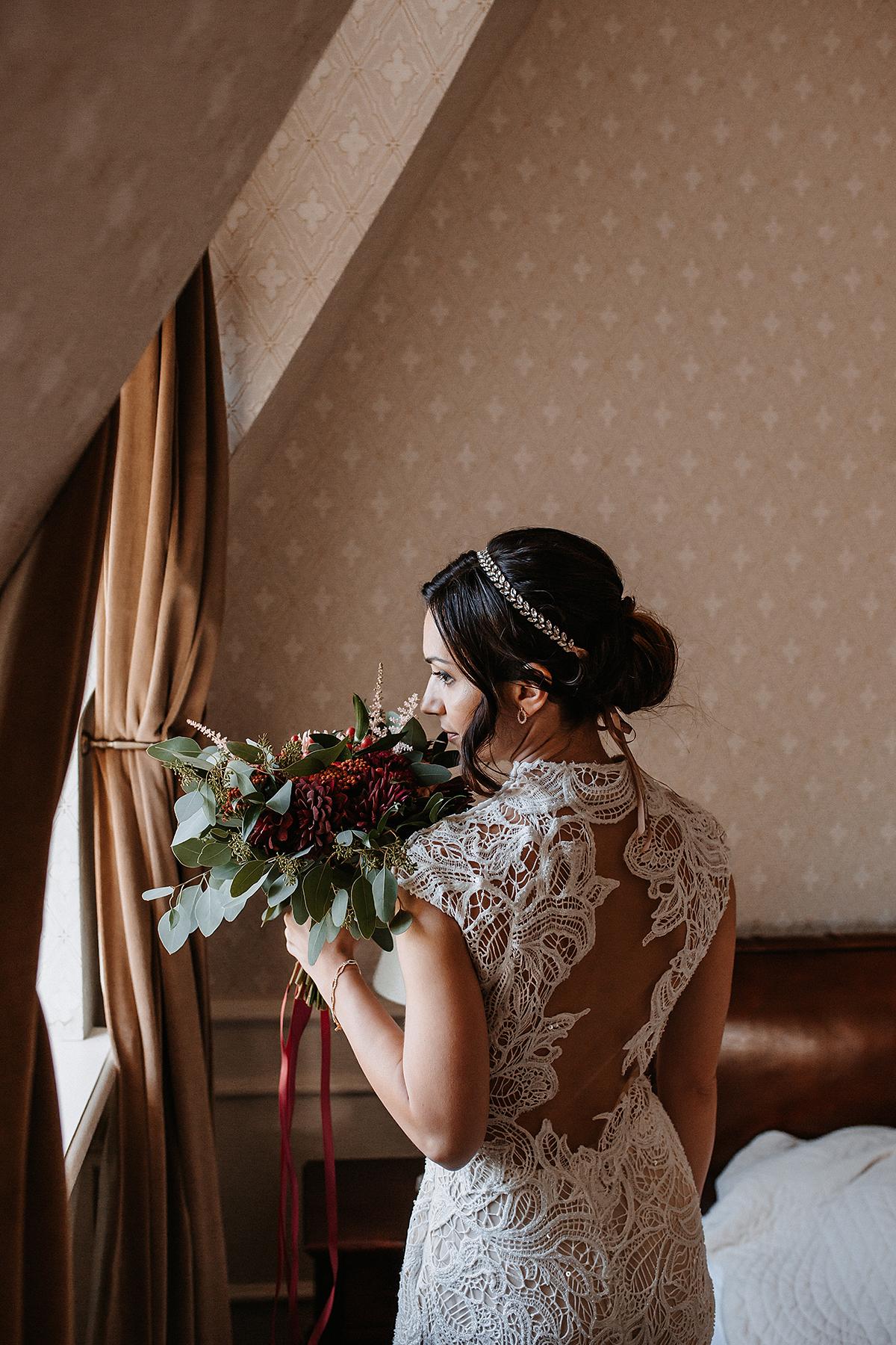 Marta i Krzysiek - ślub kościelny w plenerze - Dwór Sieraków 20