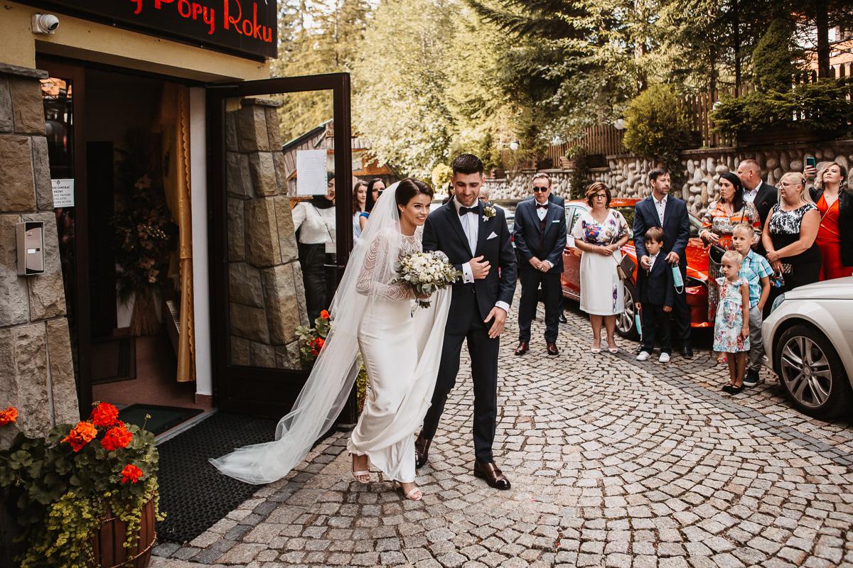 Sylwia i Piotr - ślub w Kościelisku i sesja w górach 3