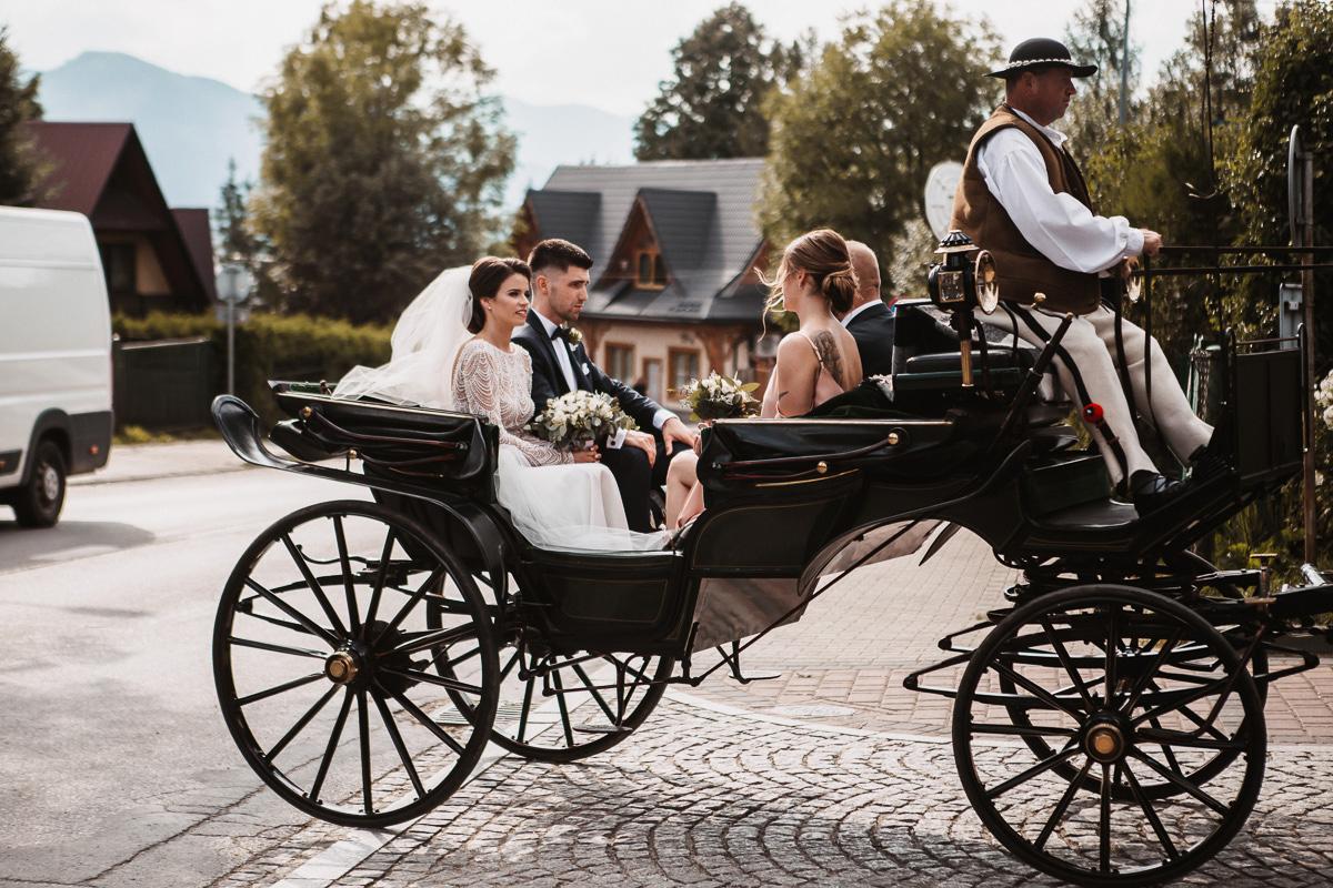 Sylwia i Piotr - ślub w Kościelisku i sesja w górach 9