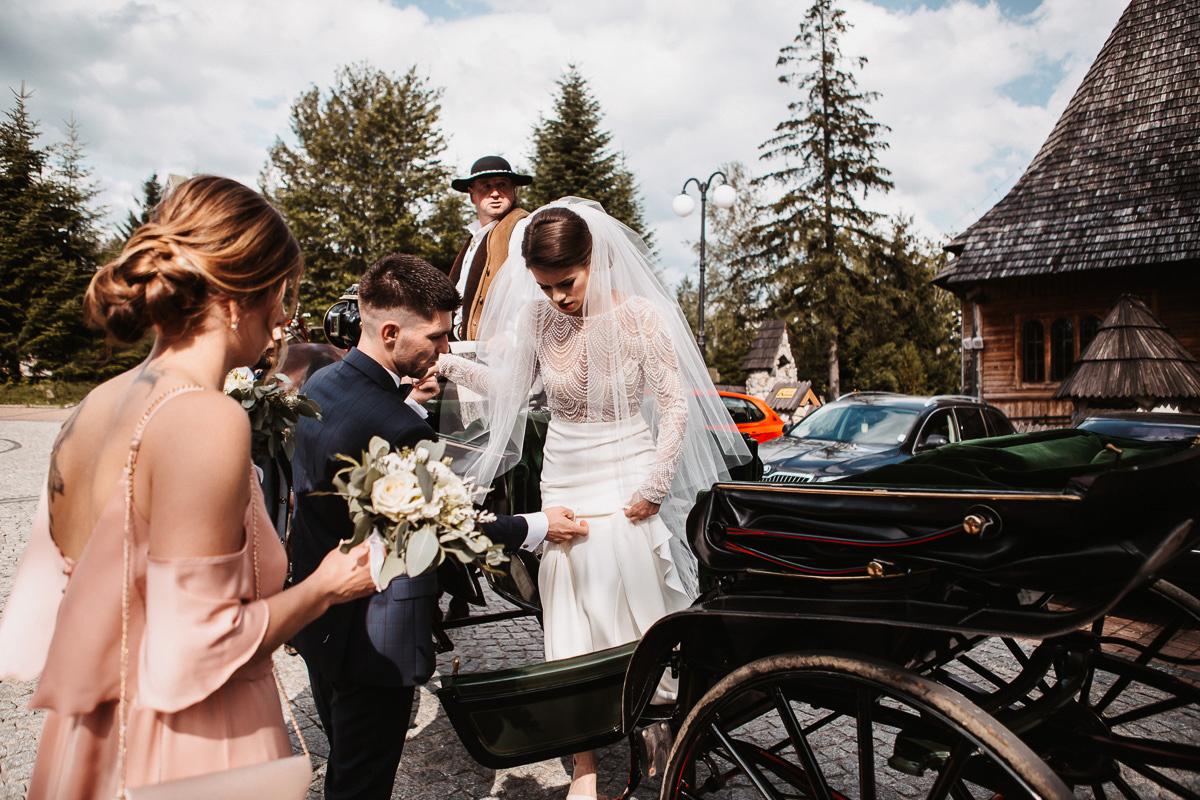 Sylwia i Piotr - ślub w Kościelisku i sesja w górach 10