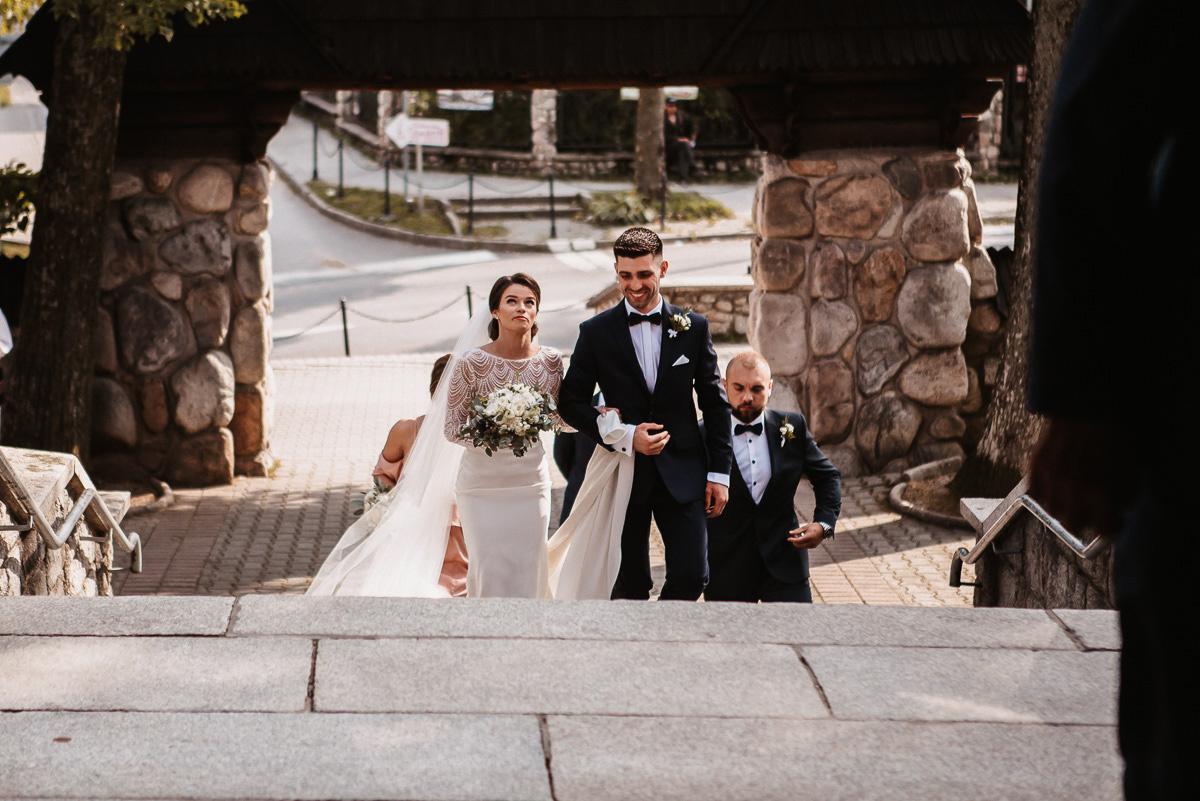 Sylwia i Piotr - ślub w Kościelisku i sesja w górach 13