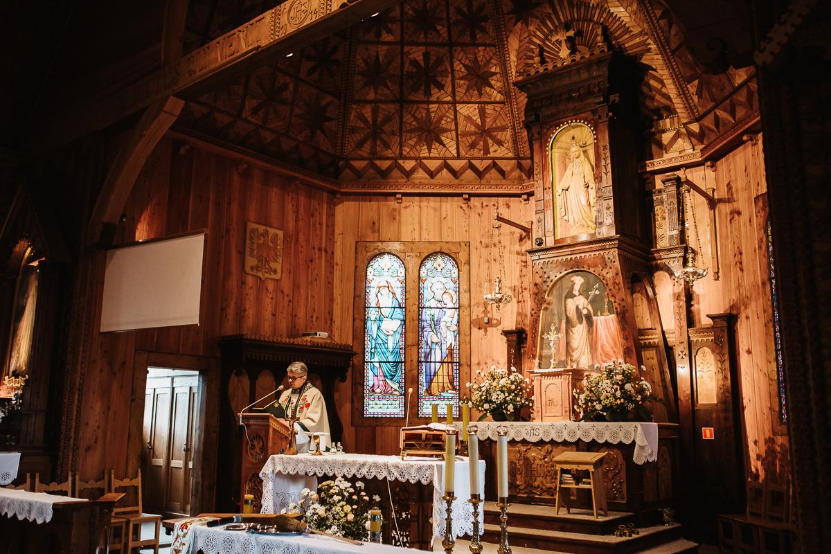 Sylwia i Piotr - ślub w Kościelisku i sesja w górach 35