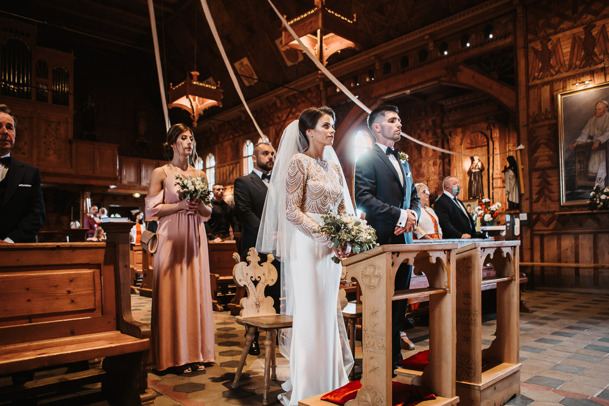 Sylwia i Piotr - ślub w Kościelisku i sesja w górach 36