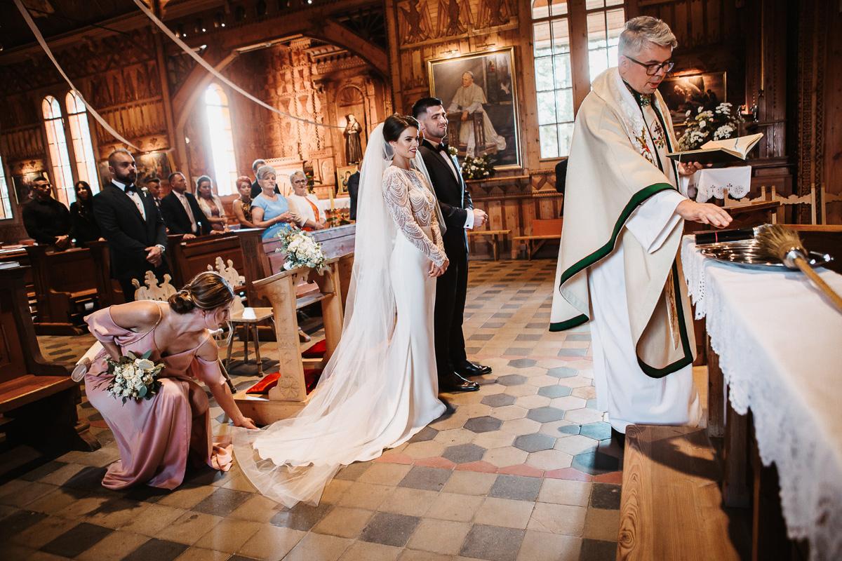 Sylwia i Piotr - ślub w Kościelisku i sesja w górach 37