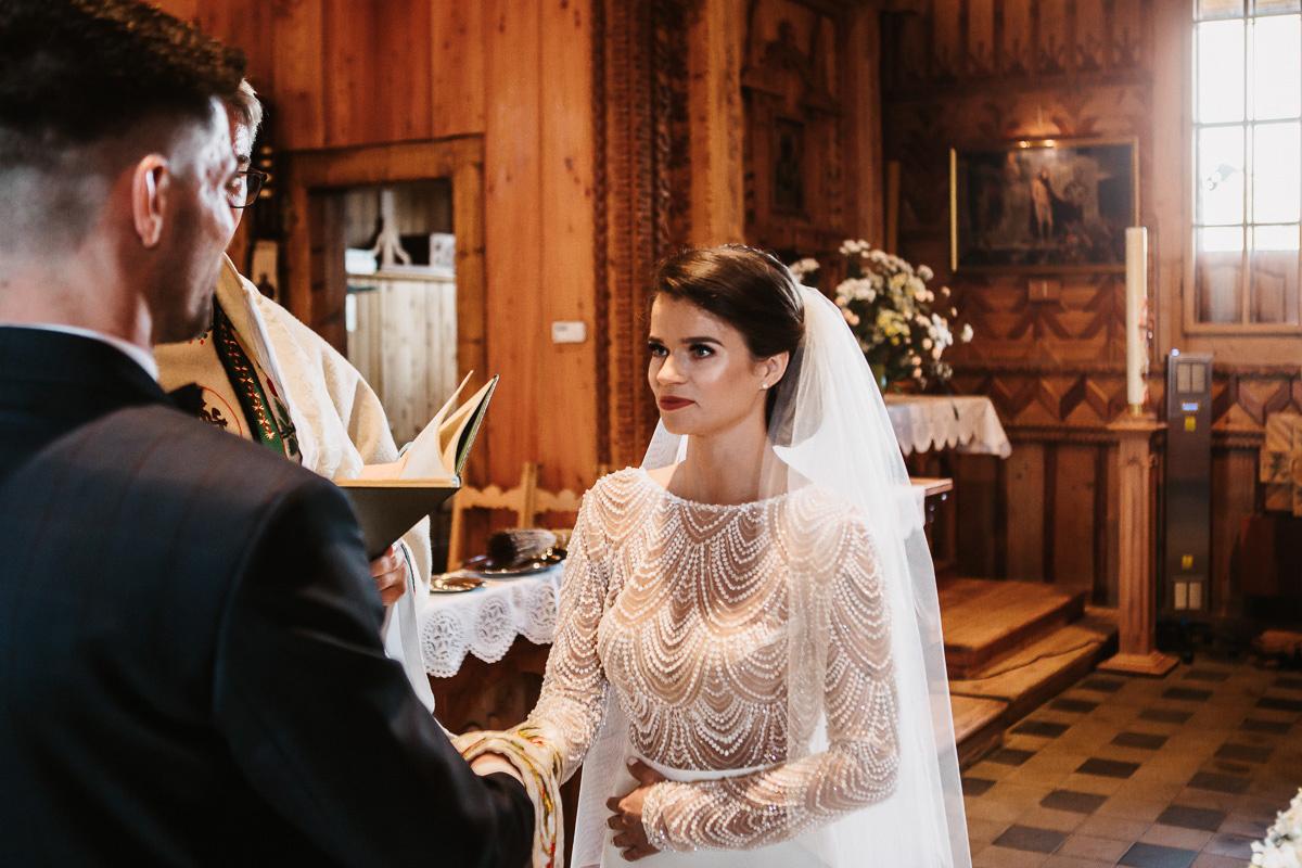 Sylwia i Piotr - ślub w Kościelisku i sesja w górach 40