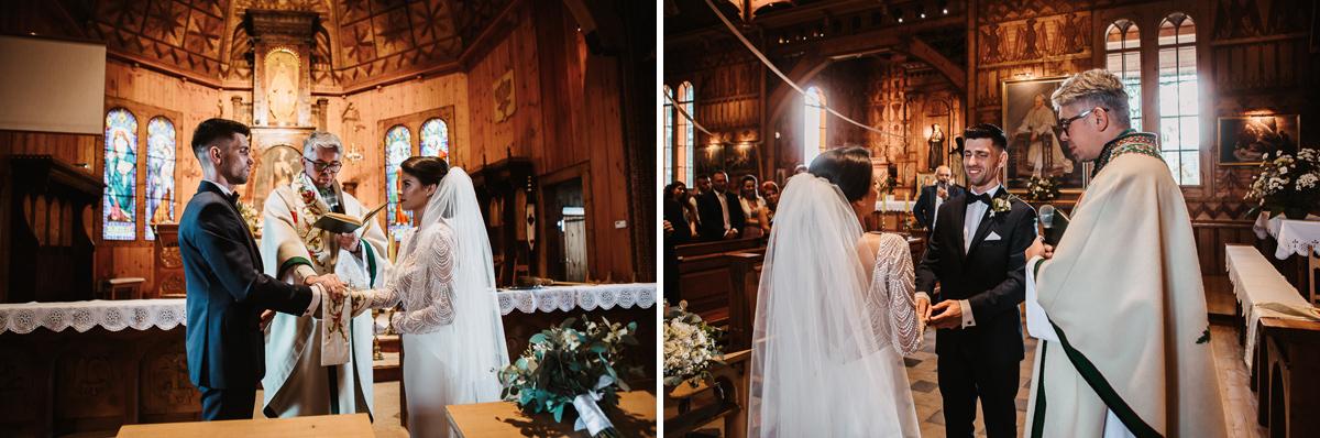 Sylwia i Piotr - ślub w Kościelisku i sesja w górach 43