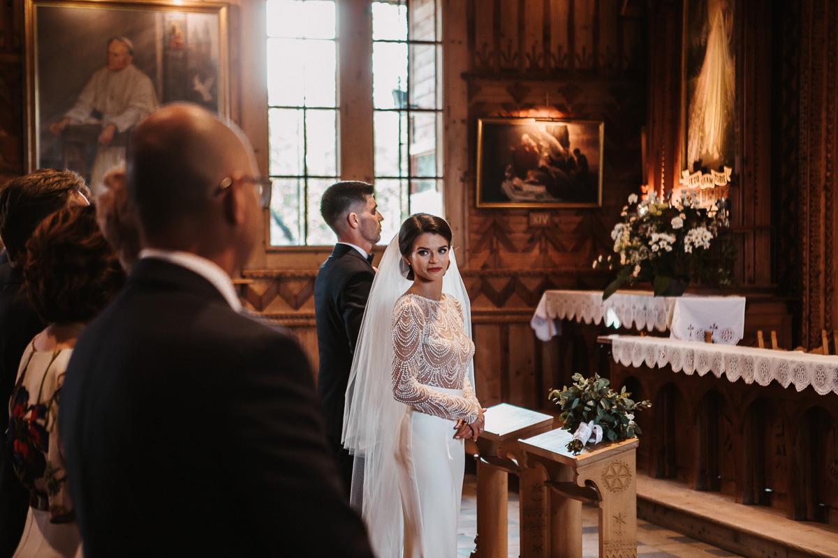 Sylwia i Piotr - ślub w Kościelisku i sesja w górach 48