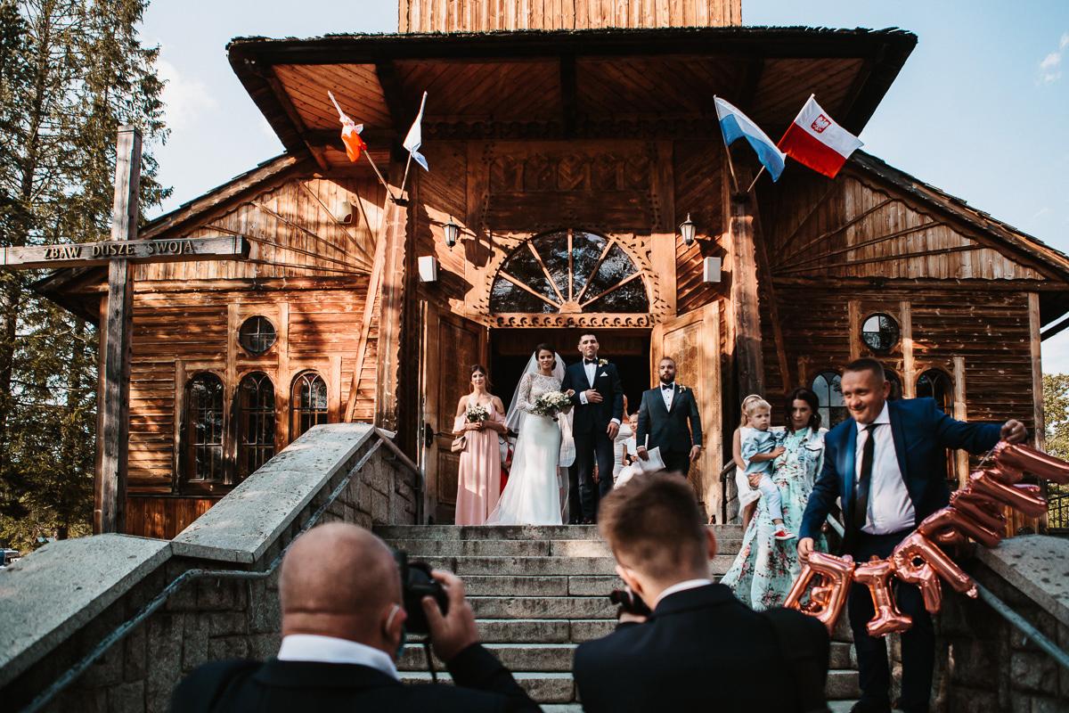 Sylwia i Piotr - ślub w Kościelisku i sesja w górach 57