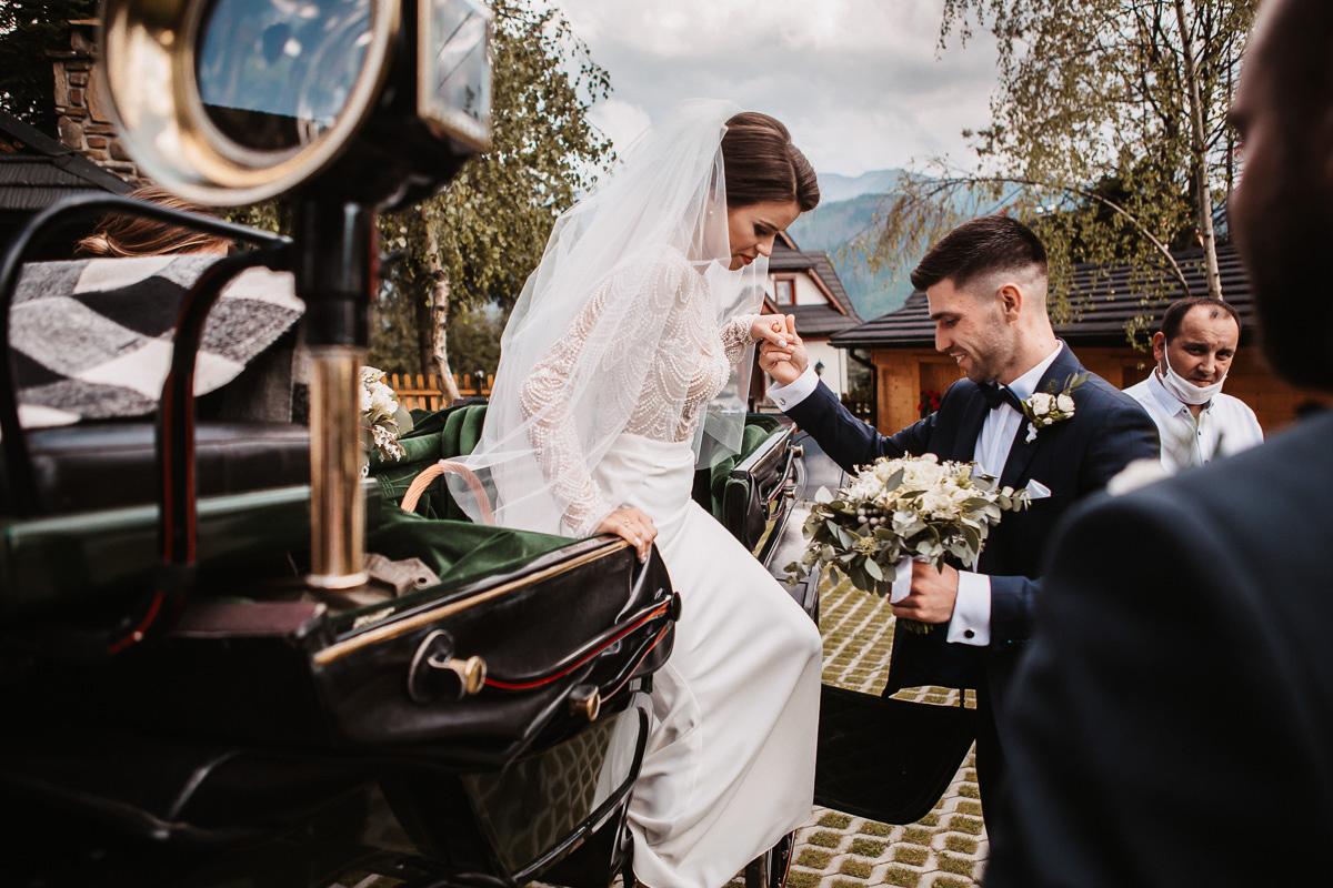 Sylwia i Piotr - ślub w Kościelisku i sesja w górach 62