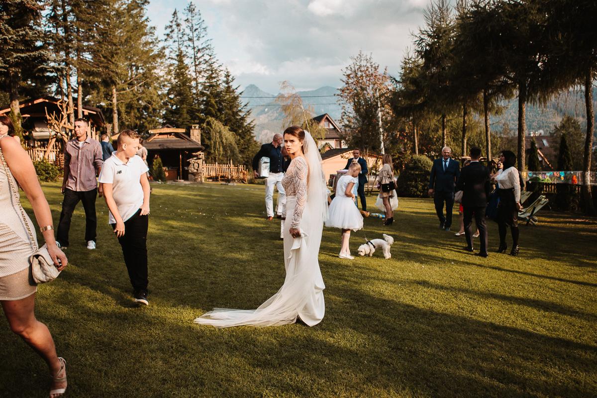 Sylwia i Piotr - ślub w Kościelisku i sesja w górach 74