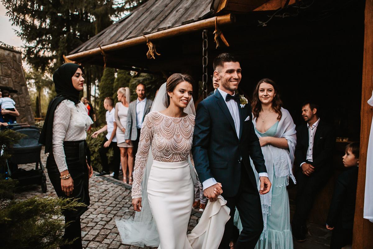 Sylwia i Piotr - ślub w Kościelisku i sesja w górach 76