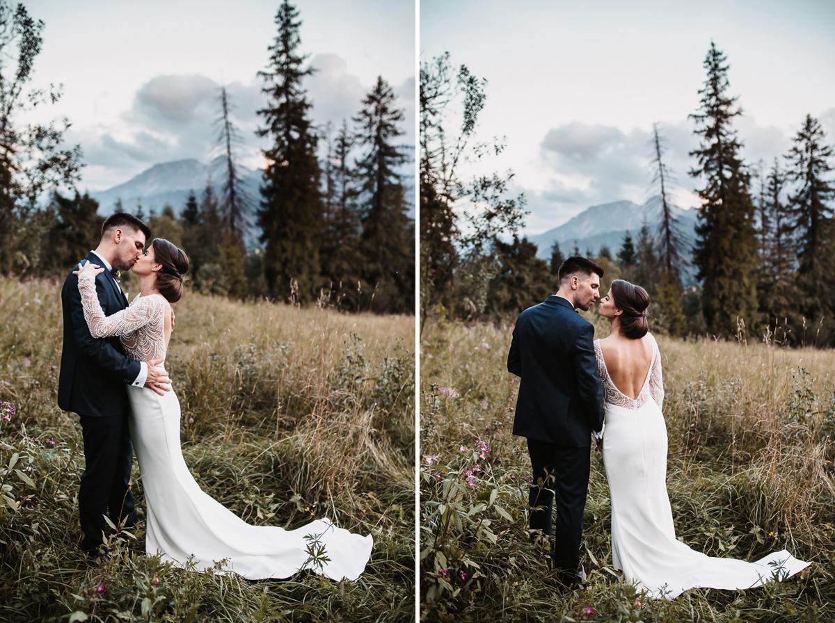 Sylwia i Piotr - ślub w Kościelisku i sesja w górach 97